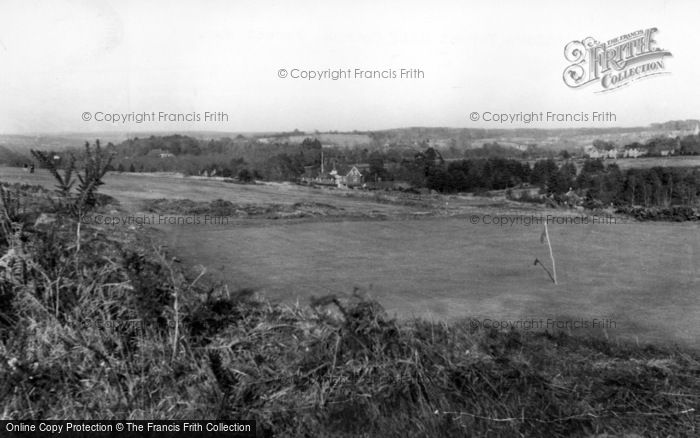 Photo of Forest Row, The Royal Ashdown Forest Golf Course c.1955