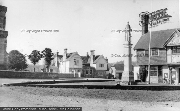 Photo of Forest Row, The Swan Hotel And Village Hall c.1955