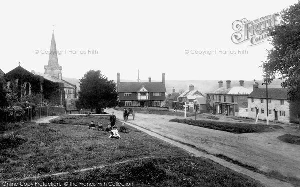 Photo of Forest Row, The Village 1902