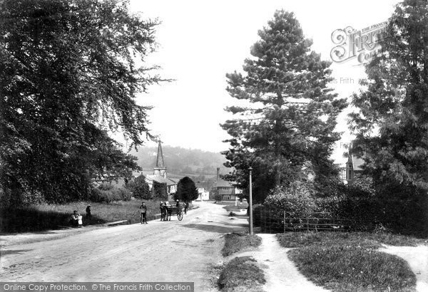 Photo of Forest Row, The Village 1909