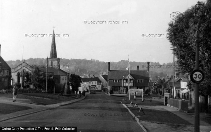 Photo of Forest Row, The Village c.1955