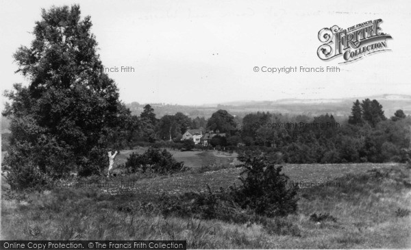 Photo of Forest Row, View Over Golf Course And Warren c.1955