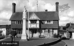 Forest Row, Village Hall And Memorial c.1965