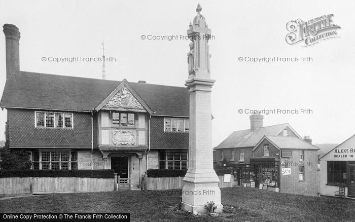 Photo of Forest Row, War Memorial 1923