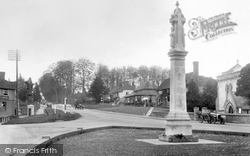 Forest Row, War Memorial And Village 1933