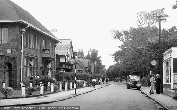 Photo of Formby, Brows Lane And Post Office c.1955
