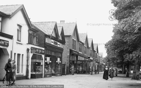 Photo of Formby, Chapel Lane 1957