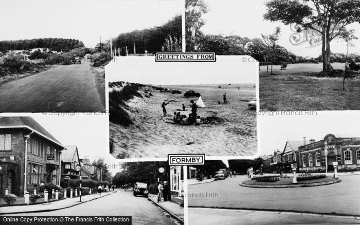 Photo of Formby, Composite c.1960