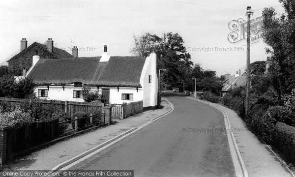 Photo of Formby, Gores Lane c.1960