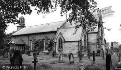Formby, St Peter's Church c.1965