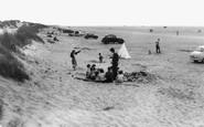 Formby, the Beach c1960