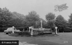 Formby, The Memorial c.1955