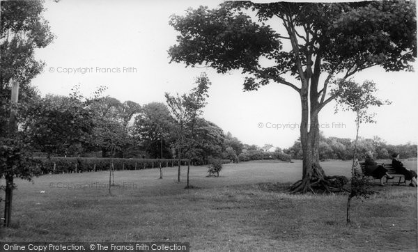 Photo of Formby, The Park c.1960