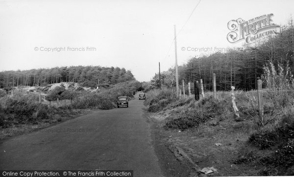 Photo of Formby, The Shore Road c.1960