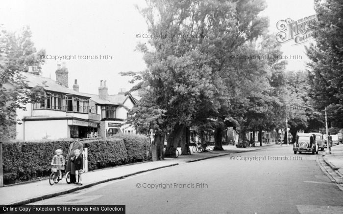 Photo of Formby, The Village c.1955