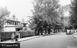 Formby, The Village c.1955