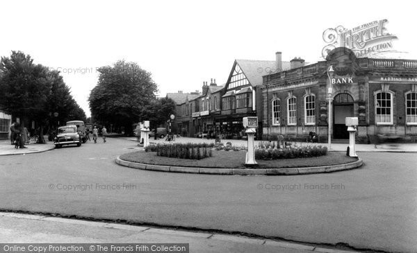 Photo of Formby, The Village c.1960