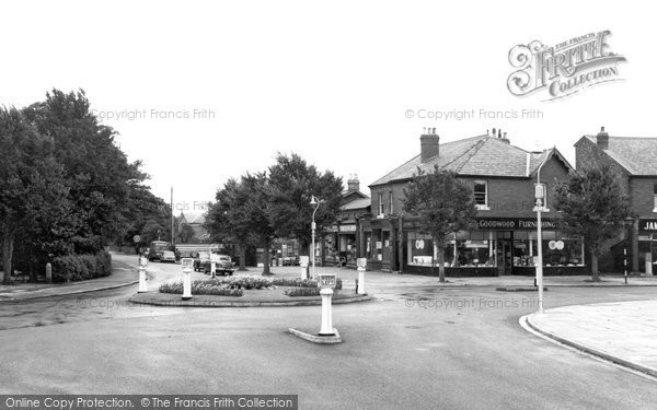Photo of Formby, Town Centre c.1960