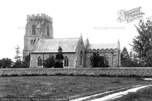 Photo of Fornham St Martin, the Church 1898, ref. 41248