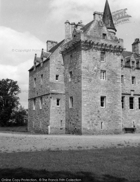 Photo of Forres, Brodie Castle 1961