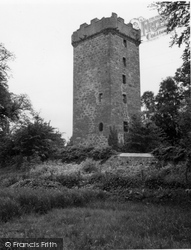 Burgie Castle 1961, Forres