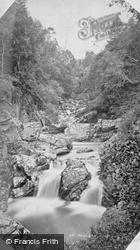 Falls On The Divie, At Relugas c.1880, Forres
