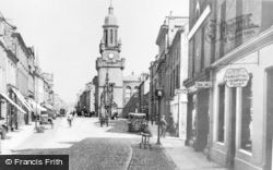 High Street c.1910, Forres