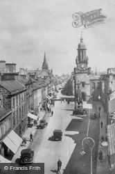 High Street, Looking East c.1935, Forres