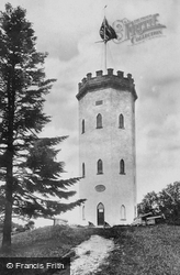 Nelson's Tower c.1894, Forres