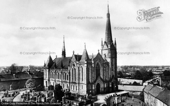 Photo of Forres, St Laurence's Church c.1935