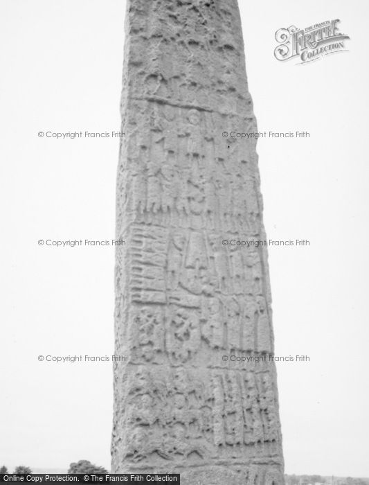 Photo of Forres, Sueno's Stone Carvings 1961