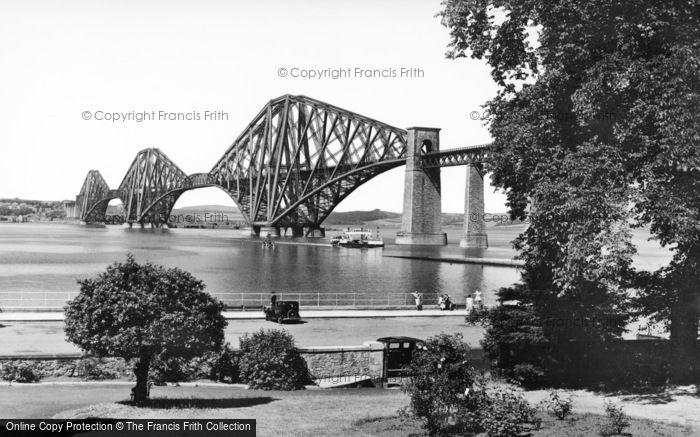 Photo of Forth Bridge, And Esplanade c.1939