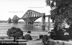 Forth Bridge, and Esplanade c1939