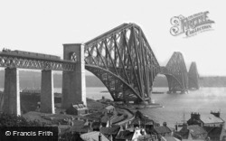 From North Queensferry 1897, Forth Bridge