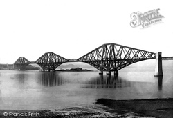 From Queensferry 1897, Forth Bridge