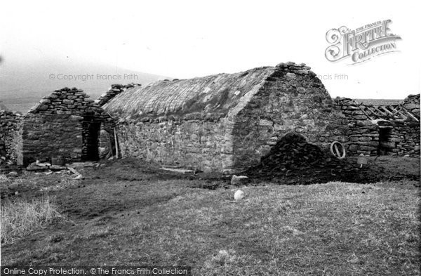 Photo of Foula, Old House 1959