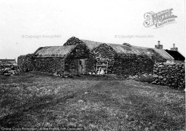 Photo of Foula, Old House 1959