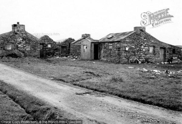 Photo of Foula, Old Houses 1959