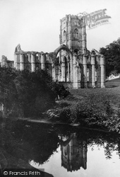 Fountains Abbey, 1886