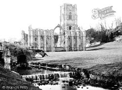 1886, Fountains Abbey