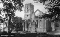 Fountains Abbey, 1895