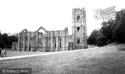 Fountains Abbey, 1955