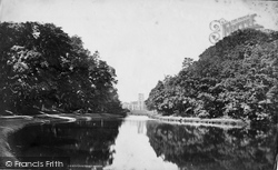Fountains Abbey, And The River c.1873