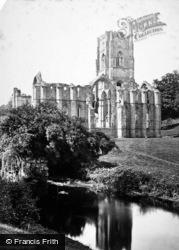 Fountains Abbey, c.1873