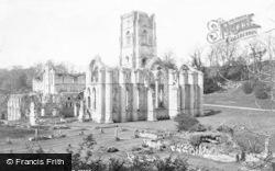 Fountains Abbey, c.1900