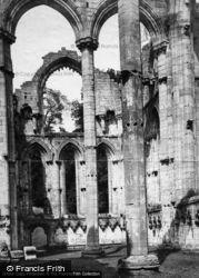 Fountains Abbey, Chapel Of Nine Altars c.1885
