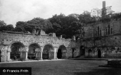 Fountains Abbey, Chapter House c.1885