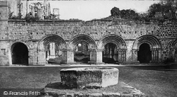 Fountains Abbey, Cloisters And Arches Of Chapter House c.1871