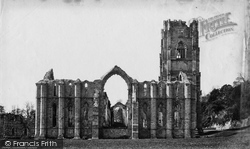 Fountains Abbey, East c.1871