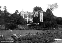 Fountains Abbey, Fountains Hall c.1885